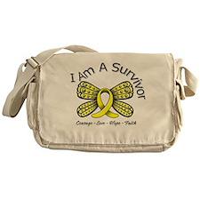 Sarcoma Cancer I'm A Survivor Messenger Bag