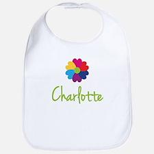 Charlotte Valentine Flower Bib