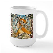 Mucha - La Plume Ceramic Mugs