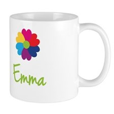 Emma Valentine Flower Small Mugs