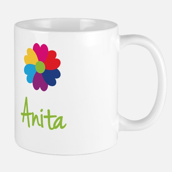 Anita Valentine Flower Mug