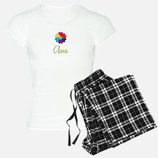 Clara Valentine Flower pajamas