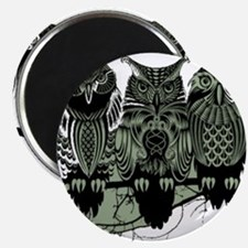 """Three Owls 2.25"""" Magnet (100 pack)"""