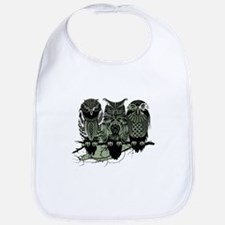 Three Owls Bib
