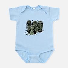 Three Owls Infant Bodysuit