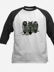 Three Owls Kids Baseball Jersey
