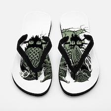 Three Owls Flip Flops