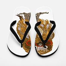 Jewel Owl Flip Flops