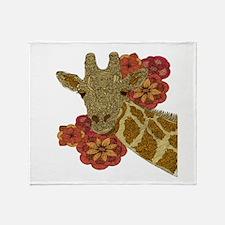 Jewel Giraffe Throw Blanket
