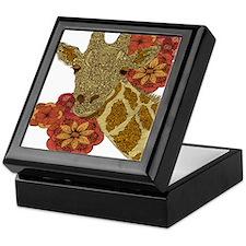 Jewel Giraffe Keepsake Box