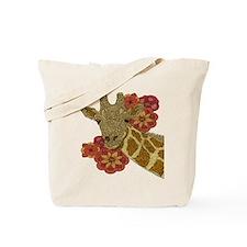 Jewel Giraffe Tote Bag