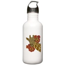 Jewel Giraffe Water Bottle