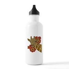 Jewel Giraffe Water Bottle