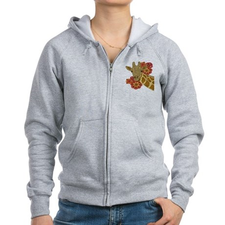 Jewel Giraffe Women's Zip Hoodie