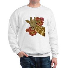 Jewel Giraffe Sweatshirt