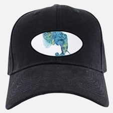 Blue Elephant Baseball Hat