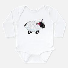 Little Lamb Long Sleeve Infant Bodysuit
