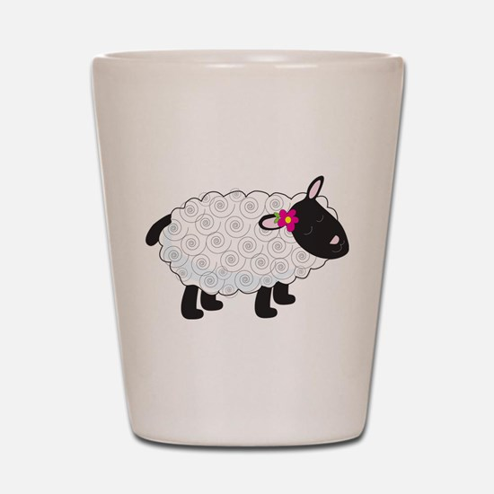 Little Lamb Shot Glass