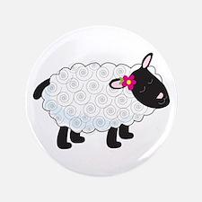 "Little Lamb 3.5"" Button"