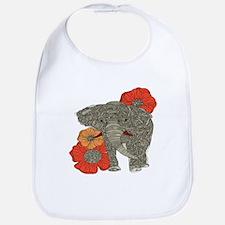 Jewel Elephant Bib