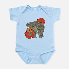 Jewel Elephant Infant Bodysuit