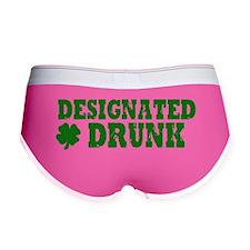 Designated DRUNK Funny Women's Boy Brief