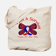 Pulmonary Fibrosis I'm A Survivor Tote Bag