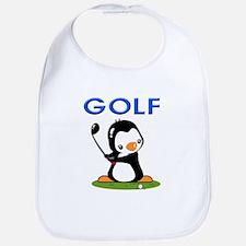 Golf Penguin (1) Bib