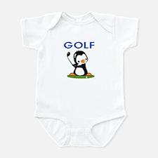Golf Penguin (1) Infant Bodysuit