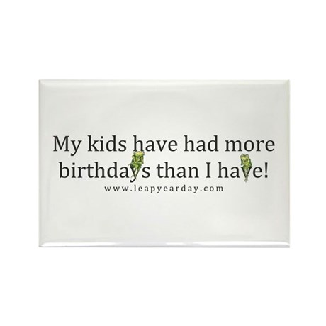 My Kids Have Had More Birthdays Than I Have! Recta