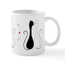 Valentine Cats Mug