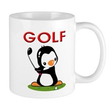Golf Penguin (2) Mug