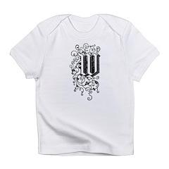 Letter W Infant T-Shirt