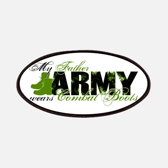 Father Combat Boots - ARMY Patches