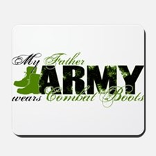 Father Combat Boots - ARMY Mousepad
