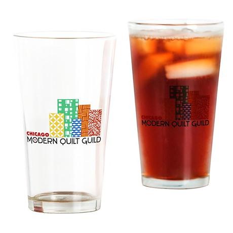 CMQG Logo Drinking Glass