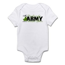Daughter Law Combat Boots - ARMY Infant Bodysuit