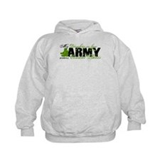 Daughter Law Combat Boots - ARMY Hoodie
