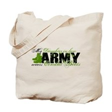 Daughter Law Combat Boots - ARMY Tote Bag