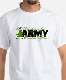 Daughter Law Combat Boots - ARMY Shirt