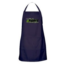 Daughter Combat Boots - ARMY Apron (dark)