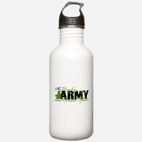 Daughter Combat Boots - ARMY Water Bottle