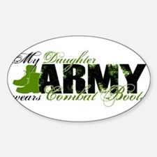 Daughter Combat Boots - ARMY Decal