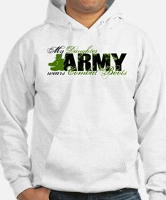 Daughter Combat Boots - ARMY Hoodie