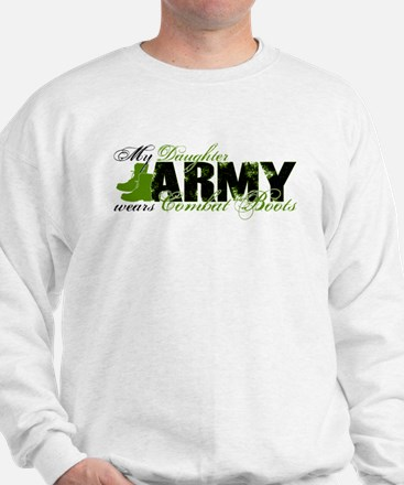 Daughter Combat Boots - ARMY Sweatshirt