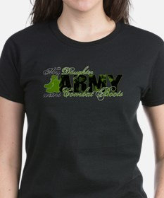 Daughter Combat Boots - ARMY Tee
