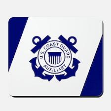 USCG Auxiliary Flag<BR> Mousepad