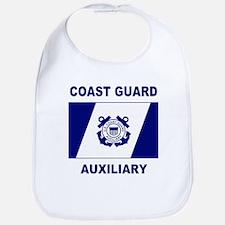 USCG Auxiliary Flag<BR> Baby Bib