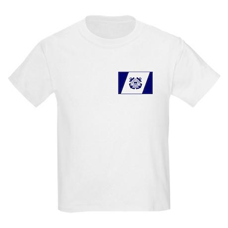 USCG Auxiliary Flag<BR> Kids T-Shirt 3