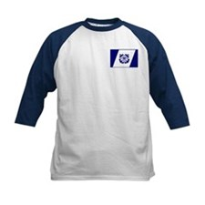 USCG Auxiliary Flag<BR> Kids Blue Jersey 3